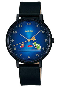 Seiko Men's Super Mario Brothers Black Limited Edition Quartz Watch #AGAK706