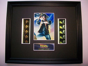 BACK TO THE FUTURE Framed X10 Film Cell Display Collectible compliments dvd poster
