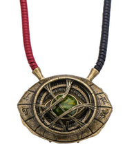Load image into Gallery viewer, Doctor Strange Eye of Agamotto Prop Replica Necklace - 1/1 Scale - Avengers Infinity War Collectible Accessories And Movie Memorabilia - Unique Superhero Gift for Birthdays, Halloween Costume, Cosplay