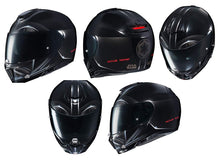 Load image into Gallery viewer, HJC Star Wars Unisex-Adult Modular Darth Vader Graphic Motorcycle Helmet Black Large