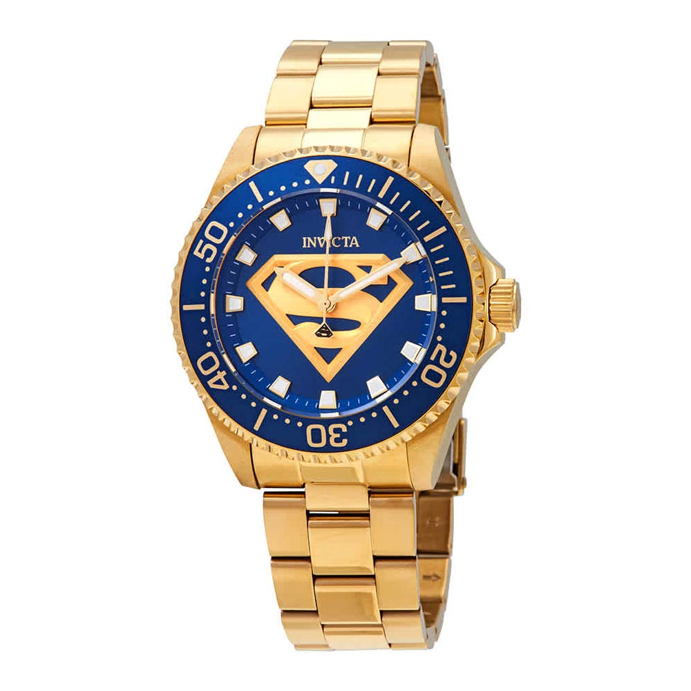 Invicta DC Comics Quartz Blue Dial Men's Watch 29689