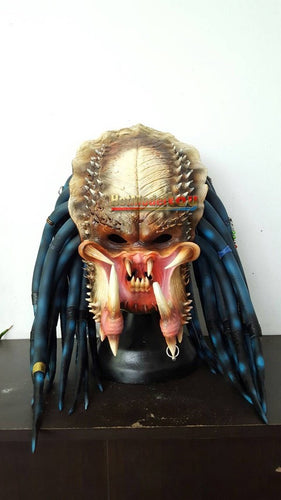 1:1 Elder Predator Replica Mask Latex Helmet Cosplay Costume