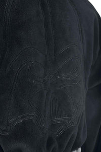 Official Star Wars Darth Vader Black Embossed Dressing Gown Bathrobe - One Size