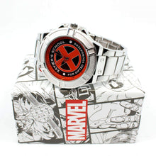 Load image into Gallery viewer, X-Men Xavier School for The Gifted Watch with Metal Band