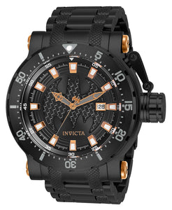 Invicta Men's DC Comics Automatic-self-Wind Stainless-Steel Strap, Black, 26 Casual Watch (Model: 26822)