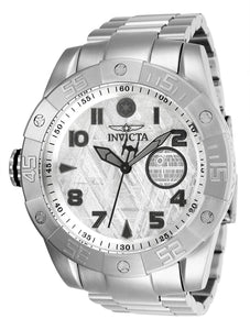 Invicta Men's Star Wars Automatic-self-Wind Watch with Stainless-Steel Strap, Silver, 26 (Model: 26704)