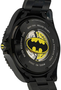Invicta Men's DC Comics Automatic-self-Wind Watch with Stainless-Steel Strap, Black, 21.1 (Model: 26900)