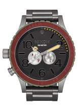 Load image into Gallery viewer, Nixon Unisex The 51-30 - The Star Wars Collection Boba Fett Red/Gray Watch