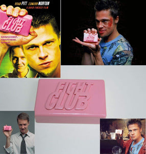 LaRetrotienda  FIGHT CLUB film prop replica soap. Handmade.