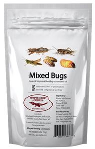 Bag of Mixed Edible Bugs