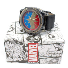 Load image into Gallery viewer, Captain Marvel Symbol Watch with Adjustable Strap