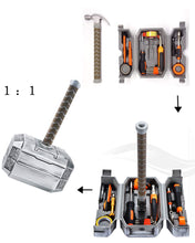 Load image into Gallery viewer, Thor Hammer Tool Set,Thor Battle Hammer tool set,Durable, Long Lasting Chrome Finish Tools with Thor Hammer case