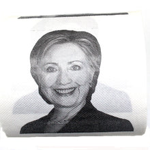 Load image into Gallery viewer, Hillary Clinton Toilet Paper, Novelty Political Gag Gift (1)