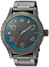 Load image into Gallery viewer, Nixon Men's '46 SW, Millenium Falcon Gunmetal' Quartz Stainless Steel Casual Watch, Color:Silver-Toned (Model: A916SW-2385-00)