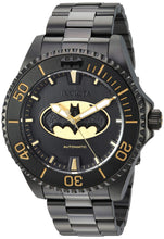 Load image into Gallery viewer, Invicta Men's DC Comics Automatic-self-Wind Watch with Stainless-Steel Strap, Black, 21.1 (Model: 26900)