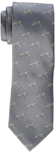 Star Wars Men's X-Wing All Over Tie, Grey, One Size