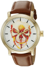 Load image into Gallery viewer, Marvel Men's W002530 Ghost Rider Analog Display Analog Quartz Brown Watch