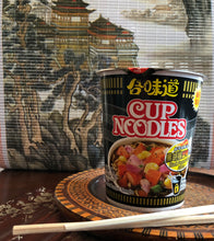 Load image into Gallery viewer, Nissin Black Pepper Crab Instant Authentic HK Japanese Ramen Cup Of Noodles Soup ( 24Pack)