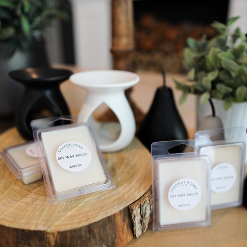 Gift Pack - Ceramic Oil Burner + Soy Melts