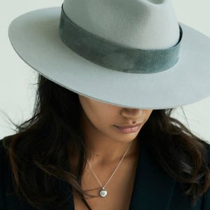 grey fedora womens