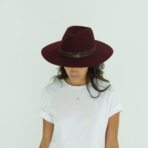 winter fedoras for women