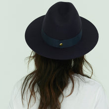 Load image into Gallery viewer, navy womens hat uk