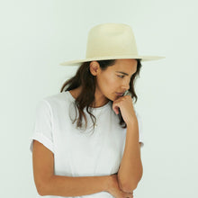 Load image into Gallery viewer, Isabella Panama Hat- Natural Straw (Low in Stock)