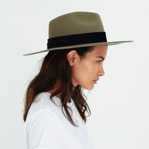wool fedora womens