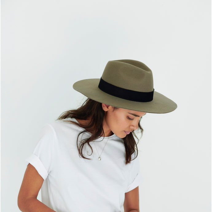 latest wool felt hats women