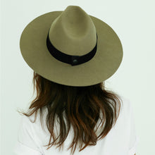 Load image into Gallery viewer, felt fedora hat womens