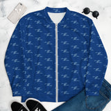SAUCE CULTURE UNLIMITED (royal blue, cool blue) Unisex Bomber Jacket