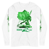 SHARK SAVER (Green) Unisex Long Sleeve Tee
