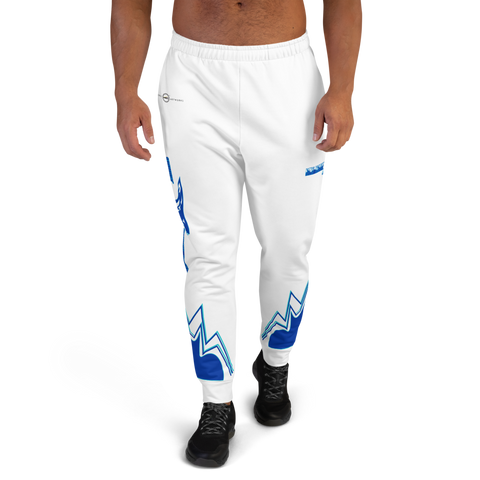New Wave Saver (White) Men's Joggers
