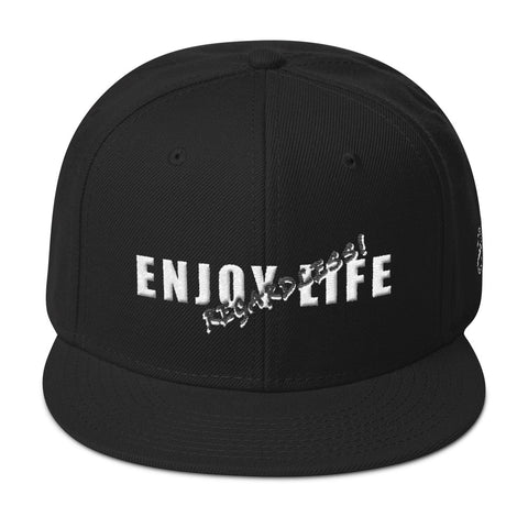 ENJOY LIFE REGARDLESS! Snapback Hat