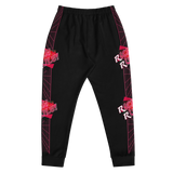 RICH RULE! (Black, Red) Men's Joggers