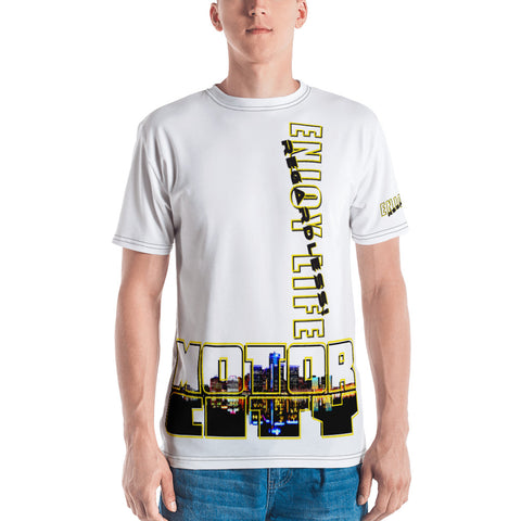 MOTOR CITY ENJOY LIFE Large - Style Men's T-shirt