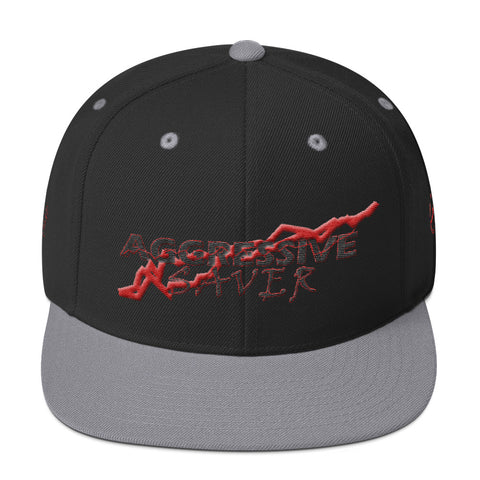 AGGRESSIVE SAVER Snapback Hat