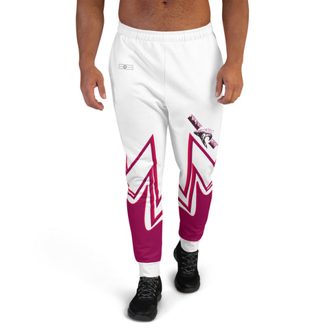 NEW WAVE SAVER 2.0 (red-violet, white) Men's Joggers