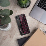 AGGRESSIVE SAVER (red-violet) iPhone Case
