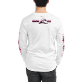 SHARK SAVER (Red Violet) Unisex Long Sleeve Tee