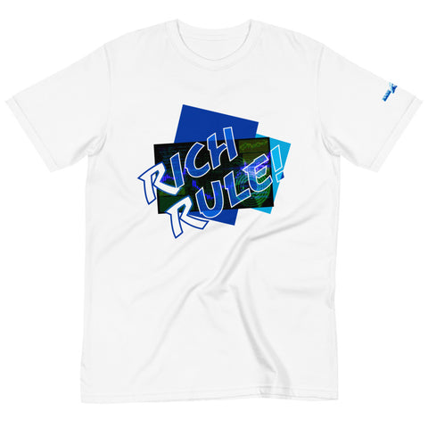 RICH RULE! (Blue) Organic T-Shirt