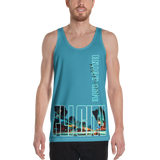 ELR FLI CITY (Cool Blue) Large-Style Tank Top