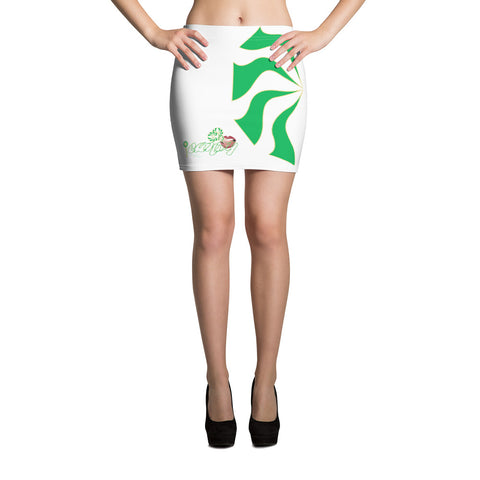 iCANDY Mint green Sauce Culture Mini Skirt