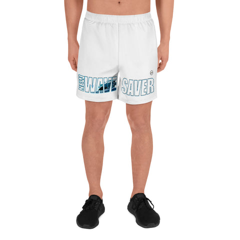NEW WAVE SAVER Large-Style Men's Athletic Long Shorts