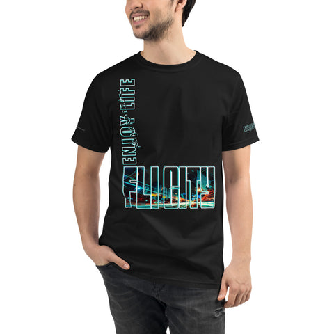 FLI CITY ENJOY LIFE Organic T-Shirt