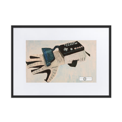 The Glove Matte Paper Framed Poster With Mat