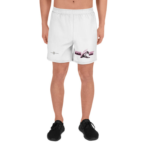 NEW WAVE SAVER White/Red-violet  Athletic Long Shorts