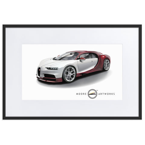 CHIRON Matte Paper Framed Poster With Mat