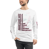 Invest On Right opportunity Unisex Long Sleeve Tee