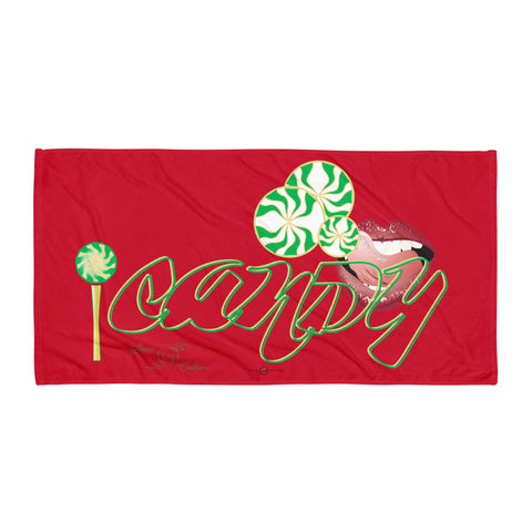 iCANDY (Red) Towel